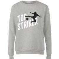 Top Striker Womens Sweatshirt - Grey - S - Grey