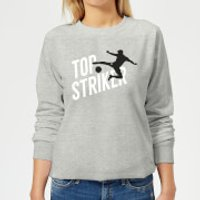 Top Striker Women's Sweatshirt - Grey - L - Grey