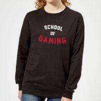 School of Gaming Women's Sweatshirt - Black - XS - Black