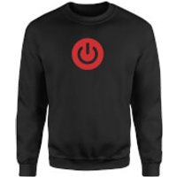 Power On Sweatshirt - Black - S - Black