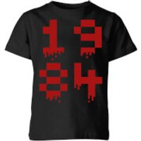 1984 Gaming Kids' T-Shirt - Black - 9-10 Years - Black