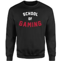 School of Gaming Sweatshirt - Black - S - Black