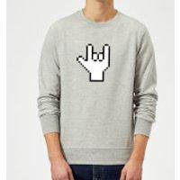 Rad Gamer Sweatshirt - Grey - L - Grey