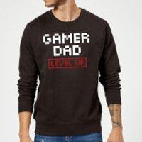 Gamer Dad Level Up Sweatshirt - Black - L - Black