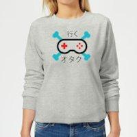 Skull and Cross Bones Controller Women's Sweatshirt - Grey - XL - Grey