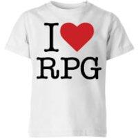 I Love RPG Kids' T-Shirt - White - 3-4 Years - White