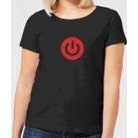Power On Women's T-Shirt - Black - 3XL - Black
