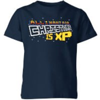 All I Want For Xmas Is XP Kids T-Shirt - Navy - 3-4 Years - Navy
