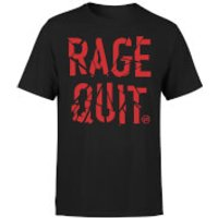 Rage Quit T-Shirt - Black - 3XL - Black