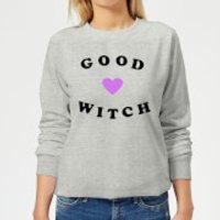 Image of Good Witch Women's Sweatshirt - Grey - L - Grey