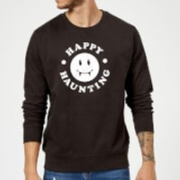 Happy Haunting Sweatshirt - Black - XXL - Black