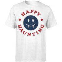 Happy Haunting Fang T-Shirt - White - M - White