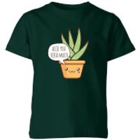My Little Rascal Aloe You Vera Much Kids' T-Shirt - Forest Green - 5-6 Years - Forest Green