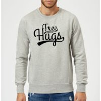 Free Hugs Sweatshirt - Grey - 3XL - Grey