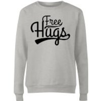Free Hugs Women's Sweatshirt - Grey - S - Grey
