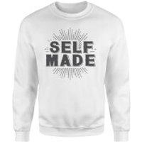 Self Made Sweatshirt - White - XL - White
