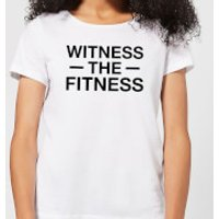 Witness the Fitness Women's T-Shirt - White - XS - White - Fitness Gifts