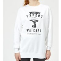 Im not an Expert Women's Sweatshirt - White - XL - White