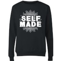 Self Made Womens Sweatshirt - Black - XXL - Black