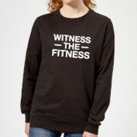 Witness the Fitness Women's Sweatshirt - Black - XXL - Black