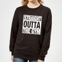 Straight Outta the Gym Women's Sweatshirt - Black - 5XL - Black - Gym Gifts