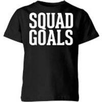 Squad Goals Kids T-Shirt - Black - 7-8 Years - Black