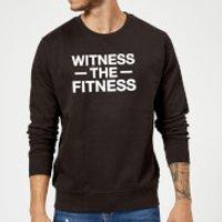 Witness the Fitness Sweatshirt - Black - 5XL - Black - Fitness Gifts