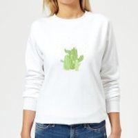 Cactus trio Women's Sweatshirt - White - M - Weiß