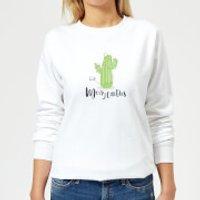Merry Cactus Women's Sweatshirt - White - M - Weiß