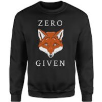 Zero Fox Given Sweatshirt - Black - XXL - Black