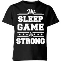 My Little Rascal My Sleep Game is Strong Kids' T-Shirt - Black - 5-6 Years - Black - Game Gifts