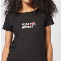 Hello Winter Women's T-Shirt - Black - XL - Black