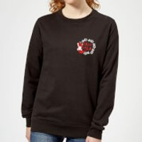 Fa La La La La Women's Sweatshirt - Black - M - Schwarz