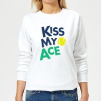 Kiss my Ace Women's Sweatshirt - White - M - White