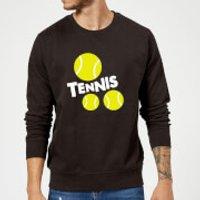 Tennis Balls Sweatshirt - Black - 5XL - Black - Tennis Gifts