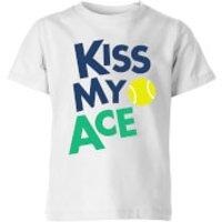Image of Kiss my Ace Kids' T-Shirt - White - 3-4 Years - White
