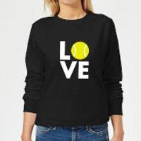 Love Tennis Women's Sweatshirt - Black - 5XL - Black - Tennis Gifts