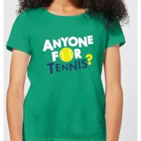 Anyone for Tennis Women's T-Shirt - Kelly Green - XL - Kelly Green