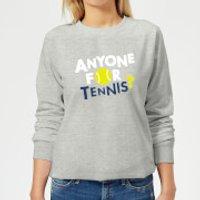 Anyone for Tennis Women's Sweatshirt - Grey - 5XL - Grey - Tennis Gifts