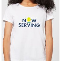 Now Serving Women's T-Shirt - White - L - White