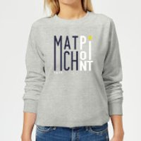 Match Point Women's Sweatshirt - Grey - M - Grey