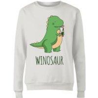 Winosaur Women's Sweatshirt - White - S - White