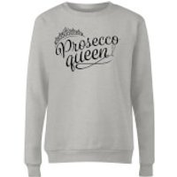 Prosecco Queen Women's Sweatshirt - Grey - S - Grey