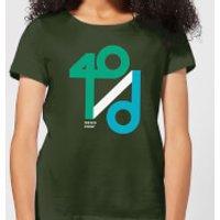 40 / d Match Point Women's T-Shirt - Forest Green - L - Forest Green