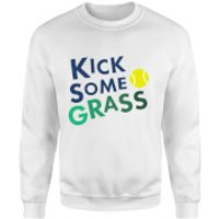Kick Some Grass Sweatshirt - White - M - White