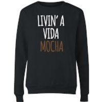 Livin' a Vida Mocha Women's Sweatshirt - Black - XL - Black
