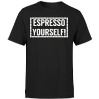 Espresso Yourself T-Shirt - Black - L - Black