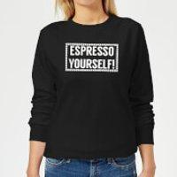 Espresso Yourself Women's Sweatshirt - Black - S - Black