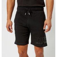 Diesel Mens Pan Sweat Shorts - Black - S - Black