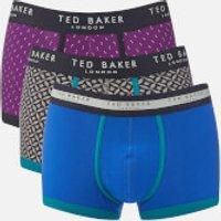 Ted Baker Mens Matches 3 Pack Boxer Shorts - Multi - L - Multi